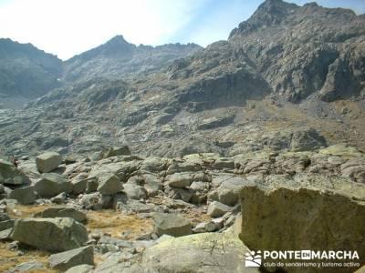 Laguna Grande de Gredos - Sierra de Gredos; bastones de trekking
